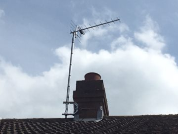 Digital TV aerial installation and upgrade