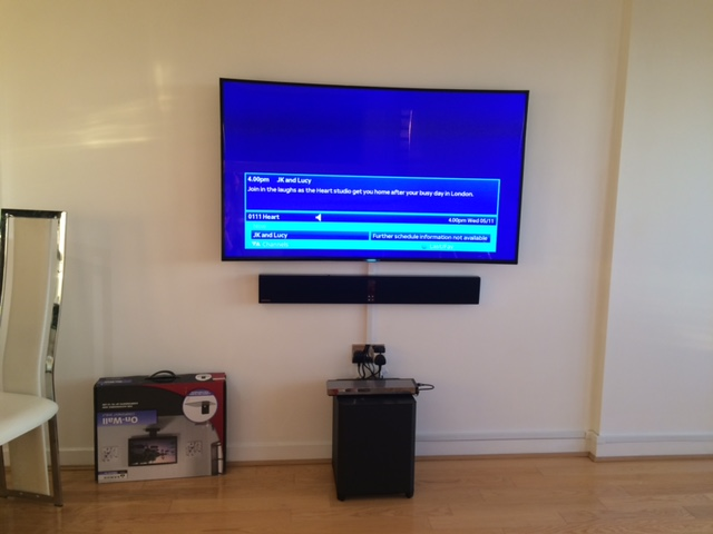 Tv Wall Mounting Harrogate The Aerial Team